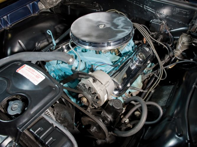 1965 Pontiac Tempest LeMans GTO Convertible muscle classic engine engines f wallpaper