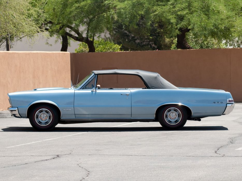 1965 Pontiac Tempest LeMans GTO Convertible muscle classic   n wallpaper