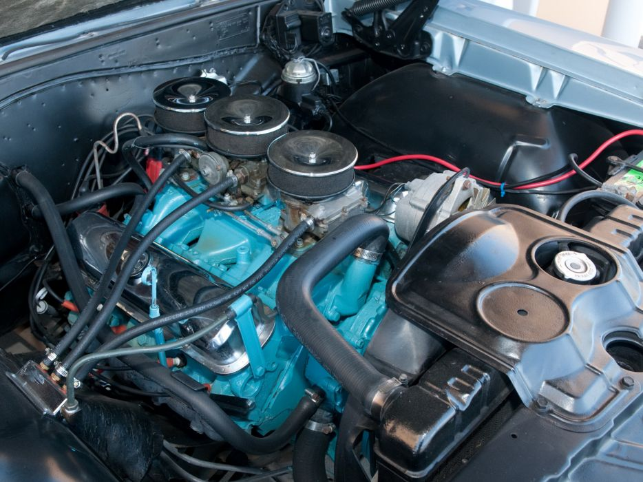 1965 Pontiac Tempest LeMans GTO Convertible muscle classic engine engines         r wallpaper
