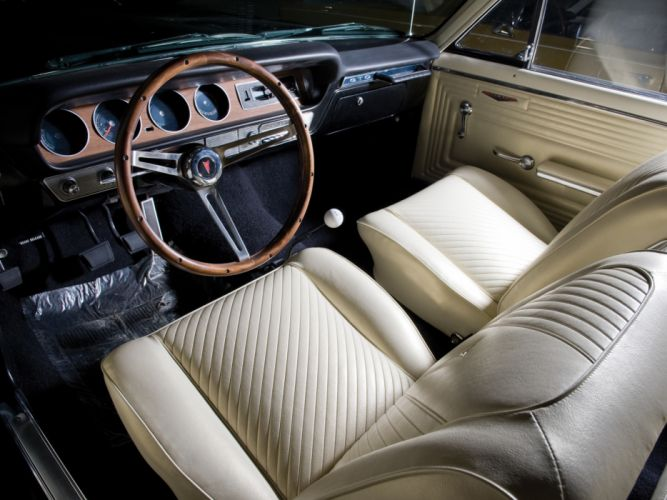 1965 Pontiac Tempest LeMans GTO Convertible muscle classic interior g wallpaper