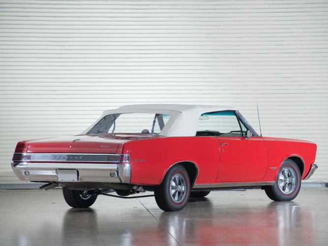 1965 Pontiac Tempest LeMans GTO Convertible muscle classic m wallpaper