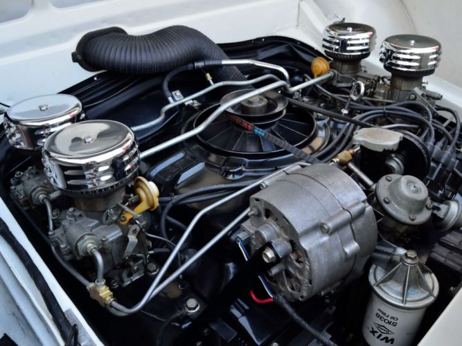 1966 Chevrolet Corvair Yenko Stinger Stage-I classic engine engines wallpaper