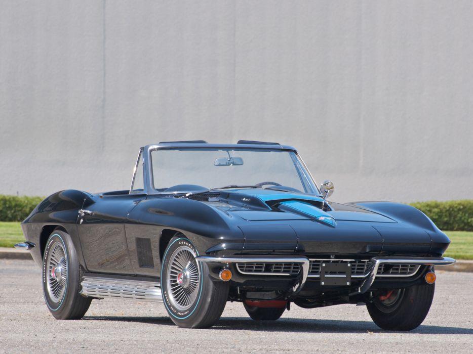 1967 Corvette Sting Ray L88 427 Convertible C-2 supercar supercars muscle classic wallpaper