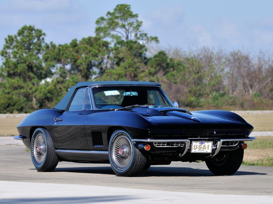 1967 Corvette Sting Ray L88 427 Convertible C-2 supercar supercars muscle classic   fg wallpaper