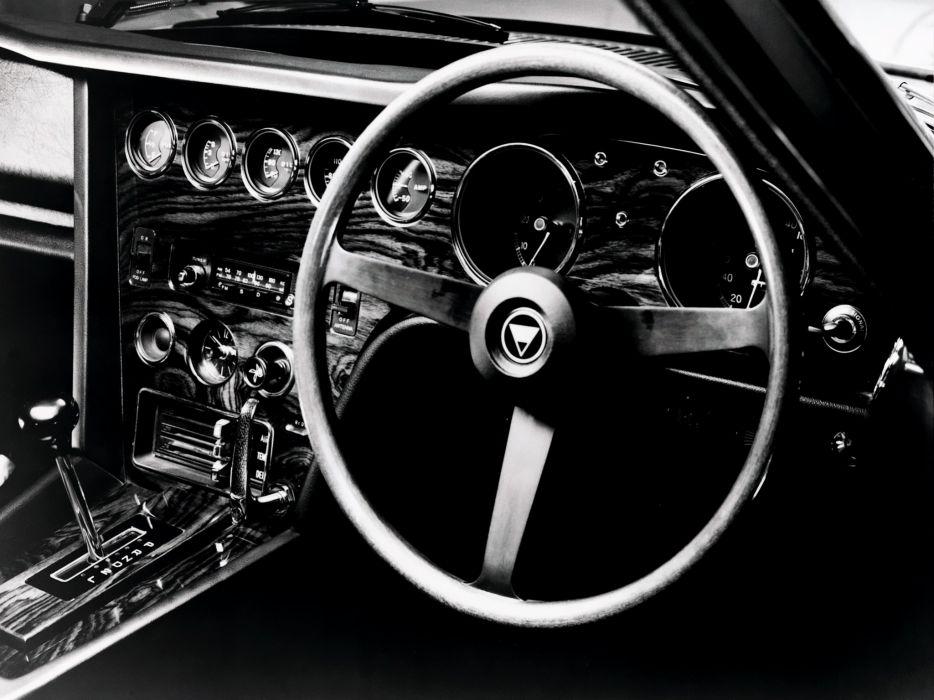 1967 Toyota 2000GT JP-spec MF10 supercar supercars classic interior       f wallpaper