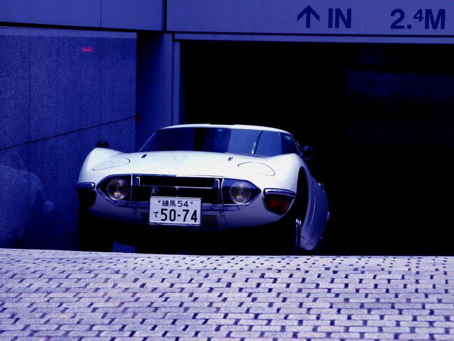 1967 Toyota 2000GT JP-spec MF10 supercar supercars classic h wallpaper
