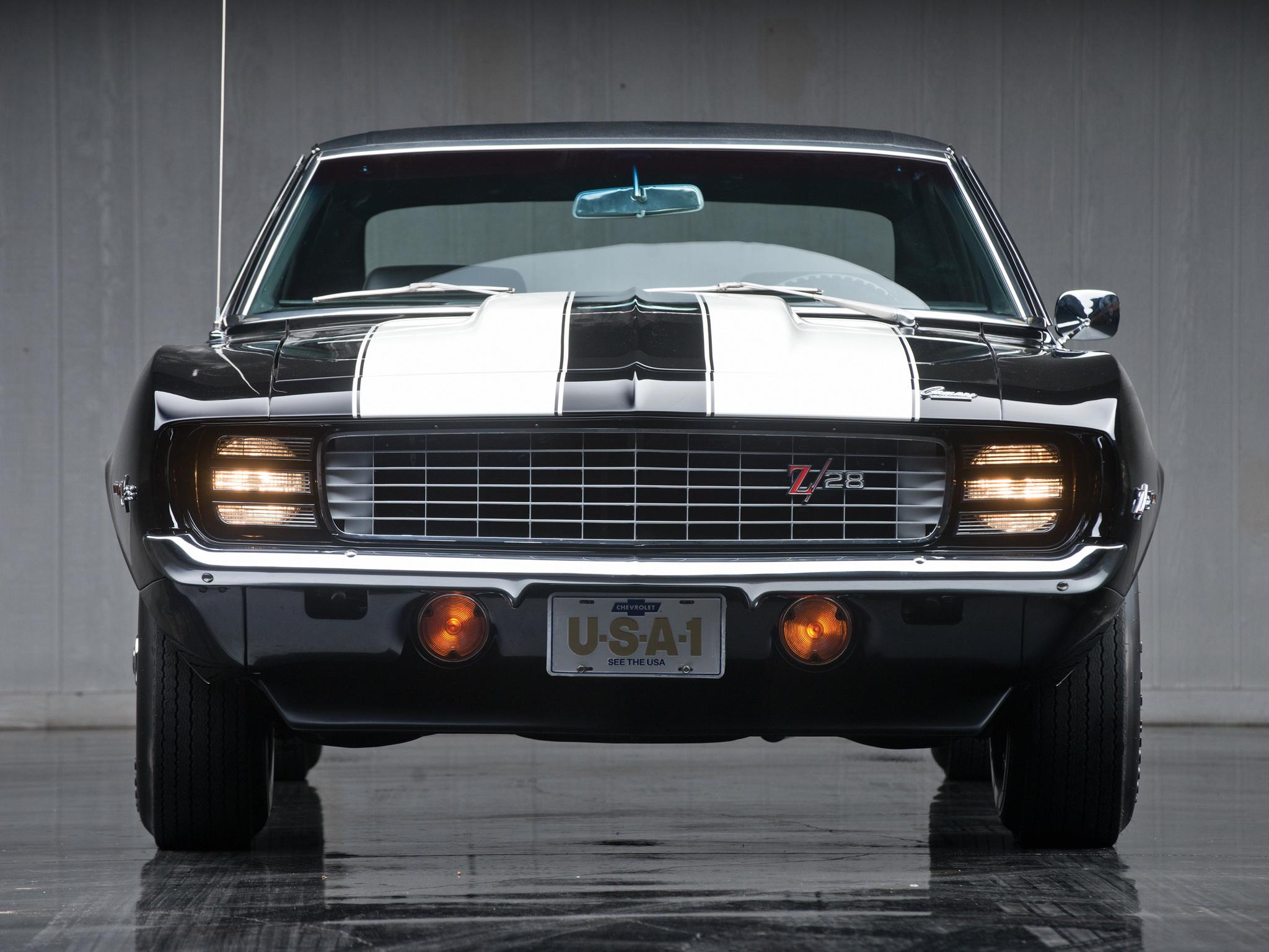 1969 Chevrolet Camaro Z28 R S Classic Muscle F Wallpaper 2048x1536