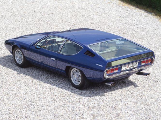 1969 Lamborghini Espada 400 GTE Series-II supercar supercars classic g wallpaper