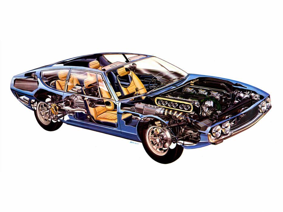 1969 Lamborghini Espada 400 Gte Series Ii Supercar Supercars Classic