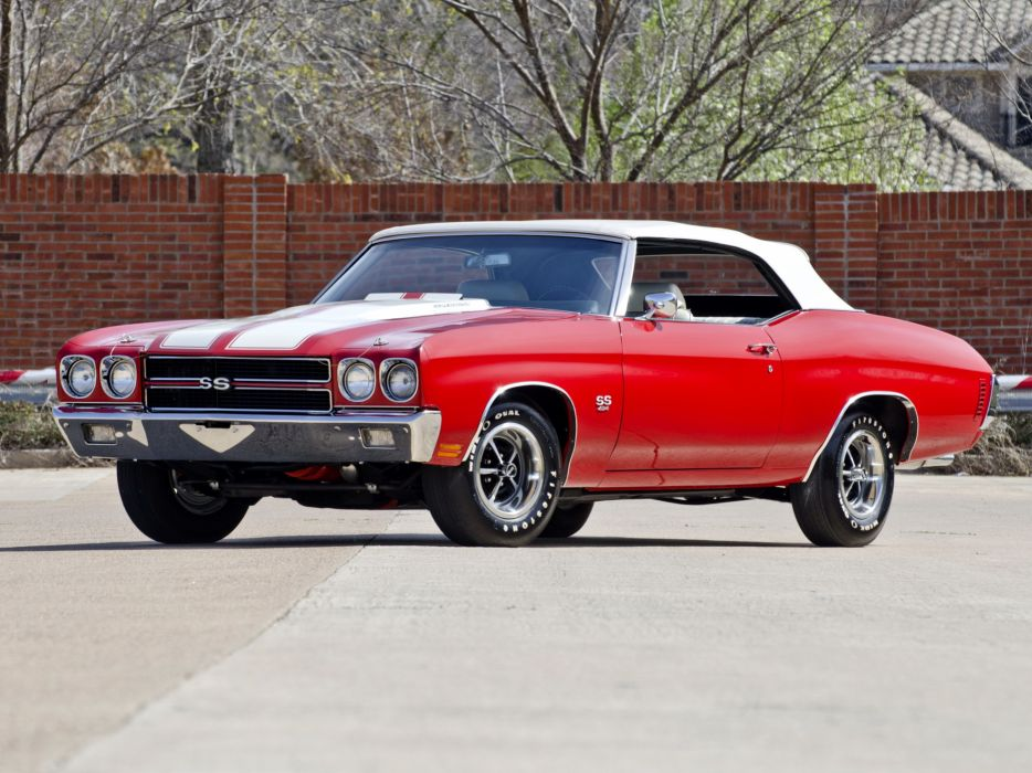 1970 Chevrolet Chevelle S-S 454 LS6 Convertible muscle classic   g wallpaper