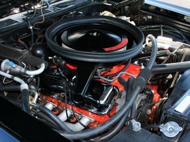 1970 Chevrolet El Camino S-S classic muscle truck el-camino engine engines f wallpaper