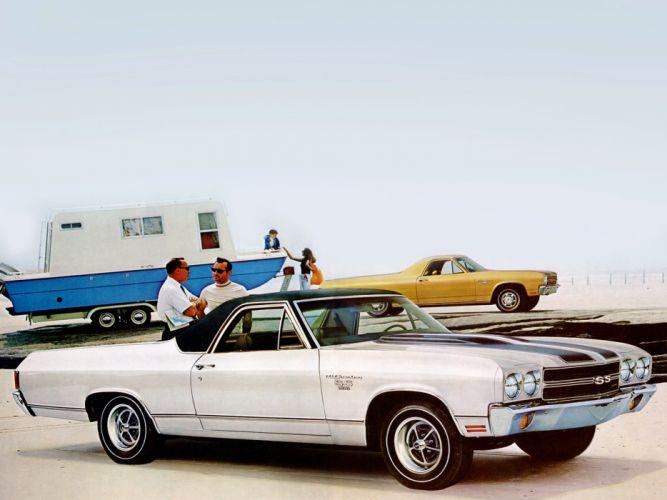 1970 Chevrolet El Camino S-S classic muscle truck el-camino g wallpaper