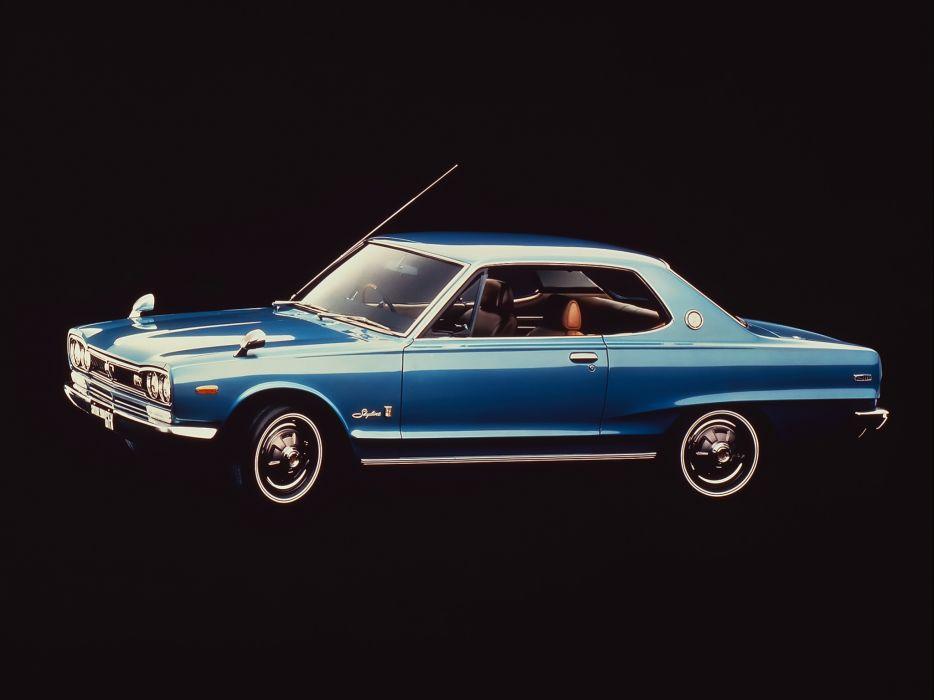 1971 Nissan Skyline 2000GT-X Coupe KGC10 datsun classic wallpaper