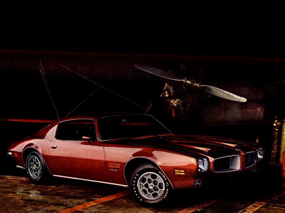 1971 Pontiac Firebird Formula 455 muscle classic    h wallpaper