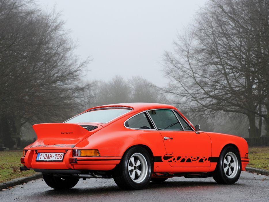 1972 Porsche 911 Carrera classic   fa wallpaper
