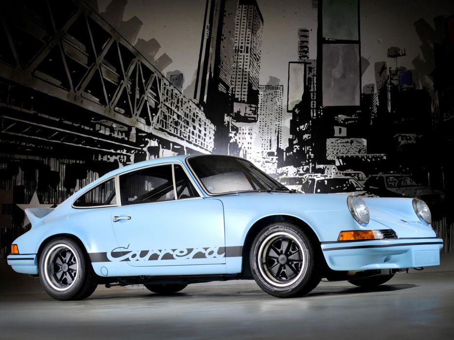 1972 Porsche 911 Carrera classic g wallpaper