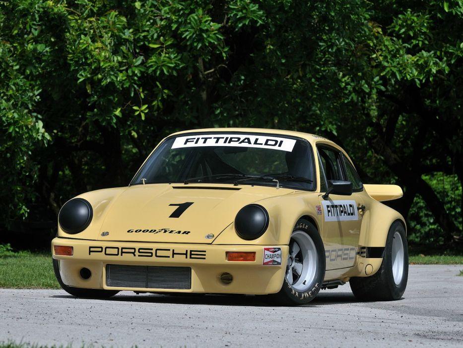 1973 Porsche 911 Carrera RSR IROC race racing classic supercar supercars wallpaper