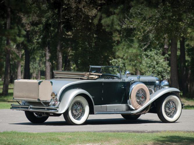 1929 Duesenberg J 194-2213 Convertible Coupe SWB Murphy retro luxury f wallpaper