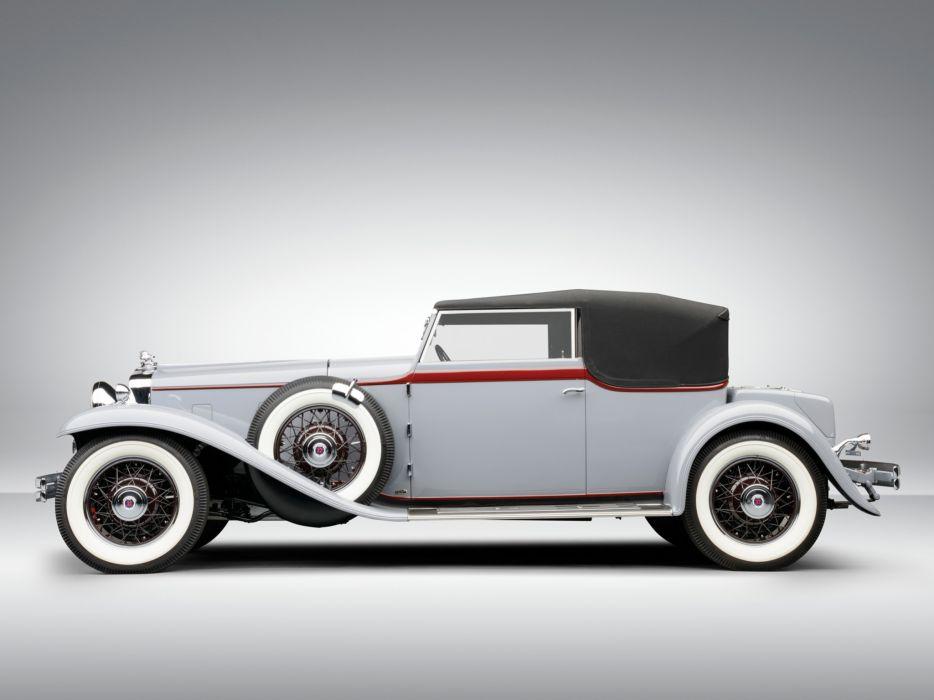 1931 Stutz DV32 Convertible Victoria Rollston luxury retro    f wallpaper