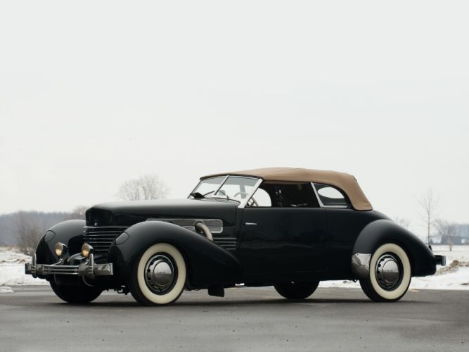 1937 Cord 812 S-C Phaeton retro f wallpaper