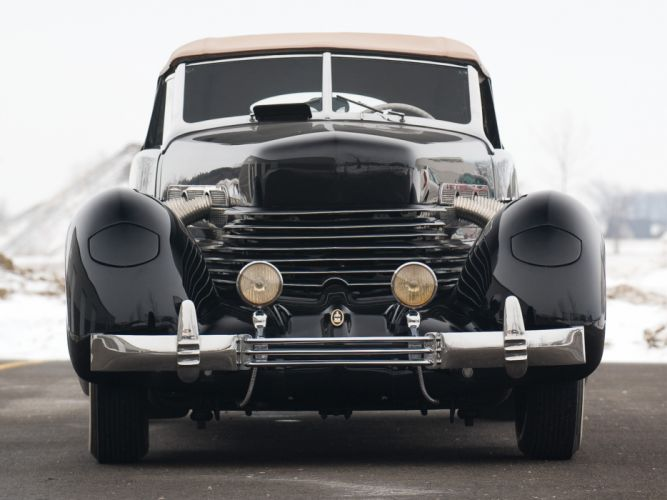 1937 Cord 812 S-C Phaeton retro roadster f wallpaper