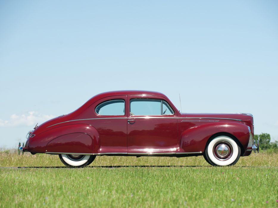 1940 Lincoln Zephyr Club Coupe retro  f wallpaper