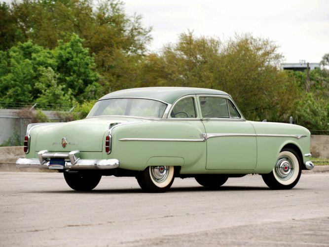 1953 Packard Clipper Deluxe Club Sedan retro f wallpaper