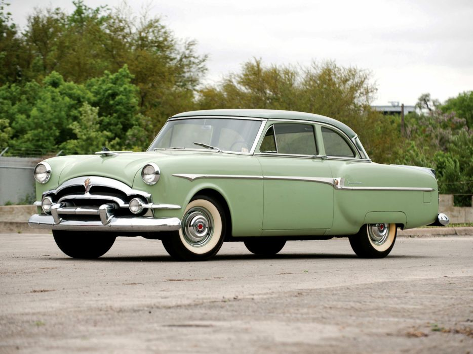 1953 Packard Clipper Deluxe Club Sedan retro wallpaper