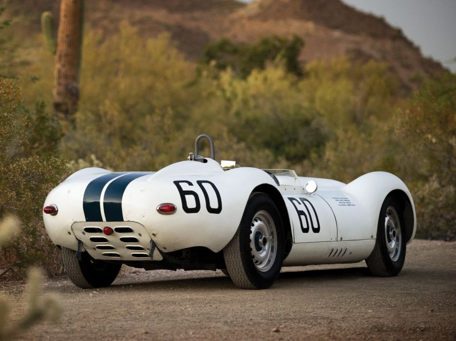 1957 Lister Knobbly Sports Racing race retro supercar supercars     g wallpaper