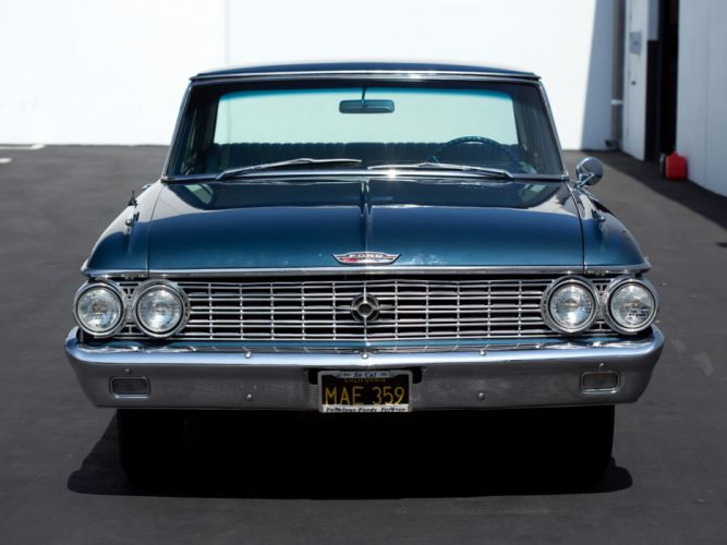1962 Ford Galaxie 500 Club Victoria muscle classic g wallpaper