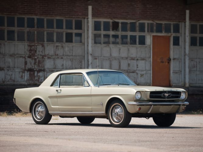1965 Ford Mustang Coupe classic muscle 289 f wallpaper