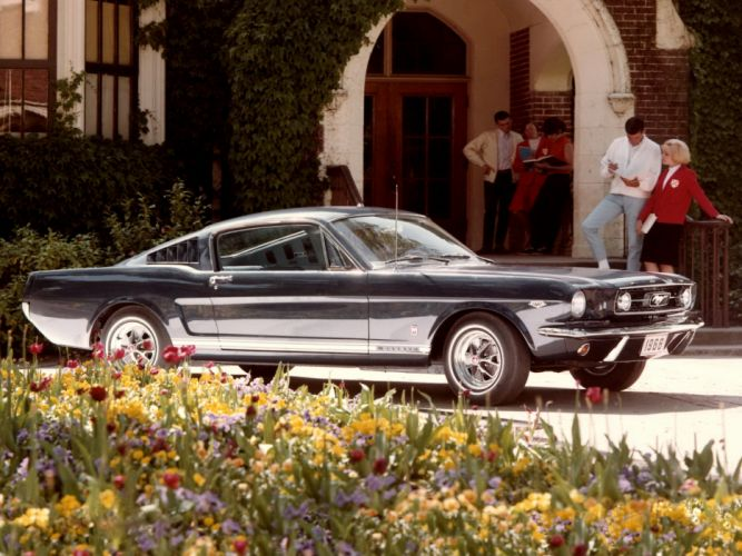 1966 Ford Mustang G-T Fastback 289 muscle classic g wallpaper