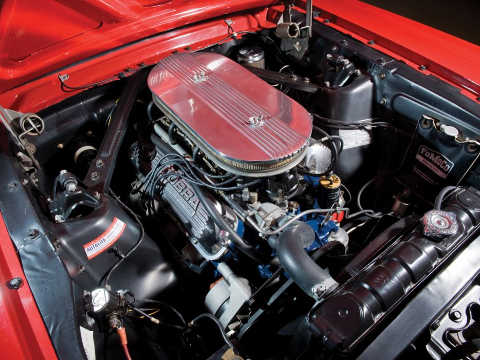 1966 Ford Mustang G-T Fastback 289 muscle classic engine engines wallpaper