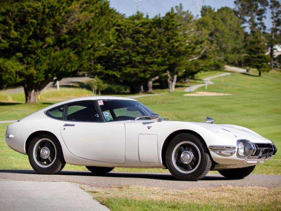 1967 Toyota 2000GT US-spec MF10 supercar supercars classic     gh wallpaper