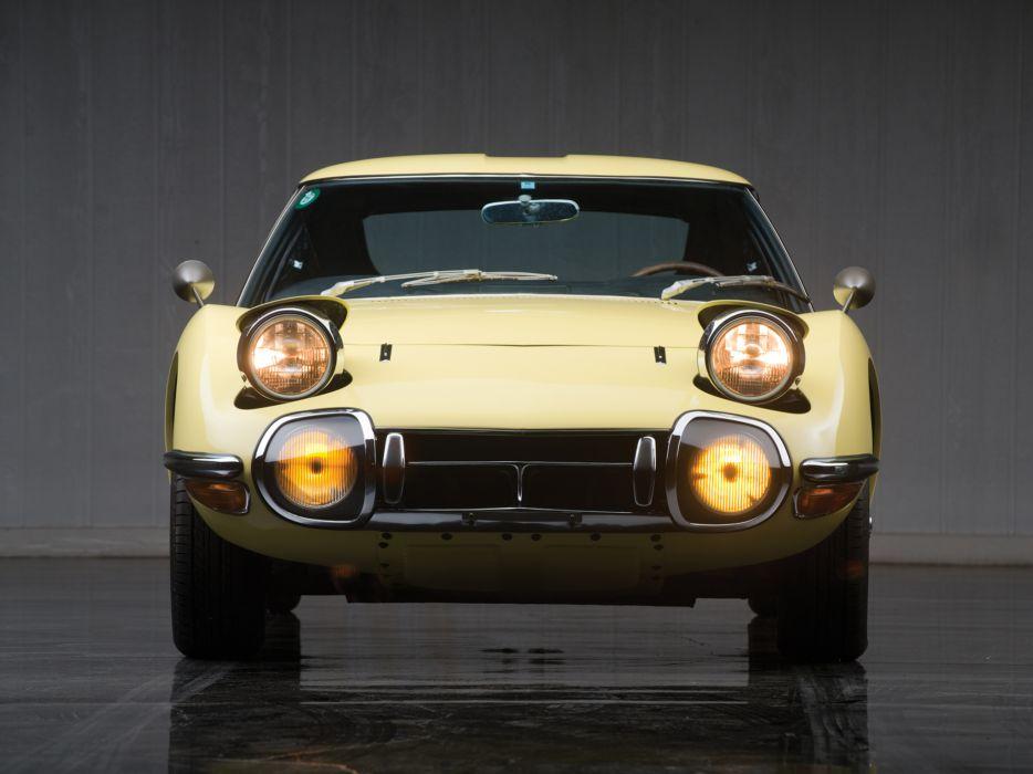 1967 Toyota 2000GT US-spec MF10 supercar supercars classic    fd wallpaper