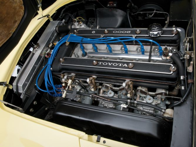 1967 Toyota 2000GT US-spec MF10 supercar supercars classic engine f engines wallpaper