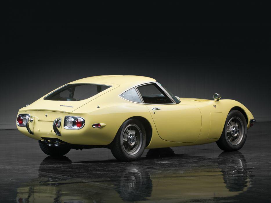 1967 Toyota 2000GT US-spec MF10 supercar supercars classic   b wallpaper