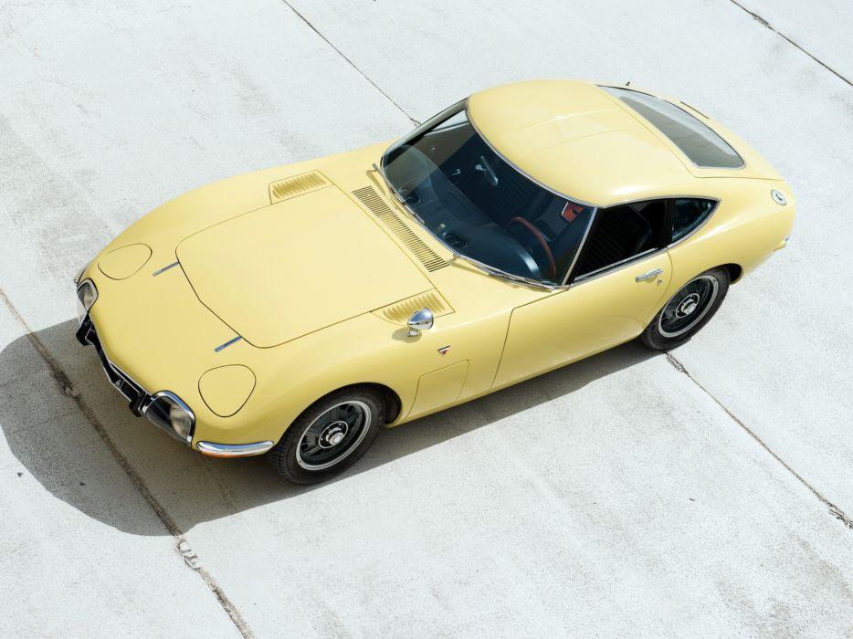 1967 Toyota 2000GT US-spec MF10 supercar supercars classic wallpaper