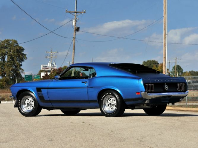 1969 Ford Mustang Boss 302 muscle classic fs wallpaper