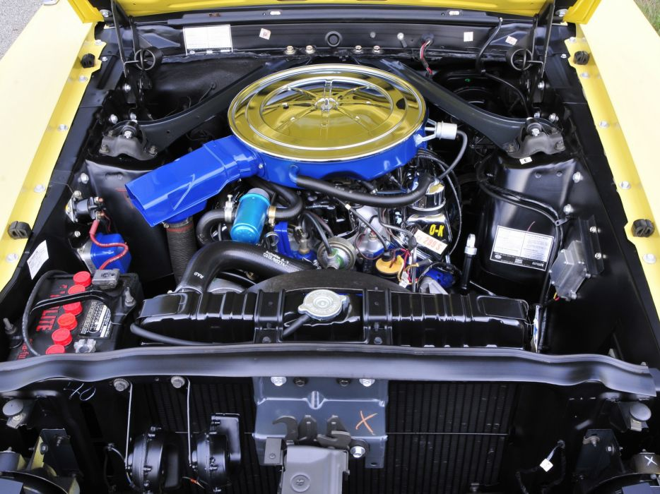 1969 Ford Mustang Boss 302 muscle classic engine engines           f wallpaper