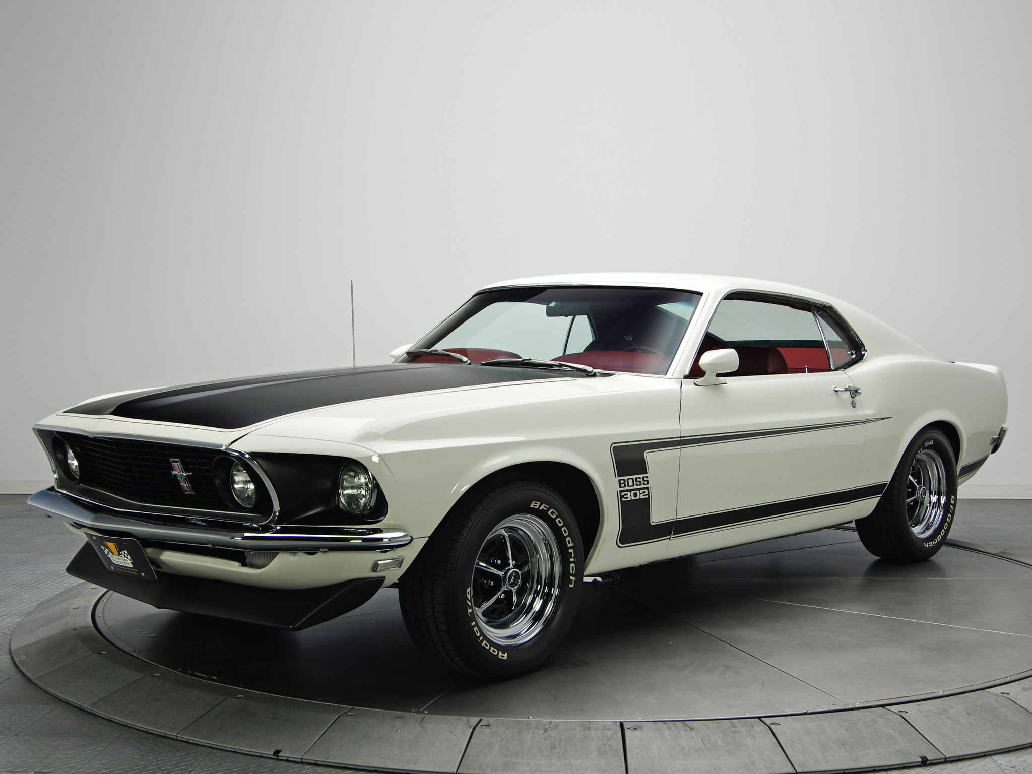 1969 Ford Mustang Boss 302 Muscle Classic Fg Wallpaper