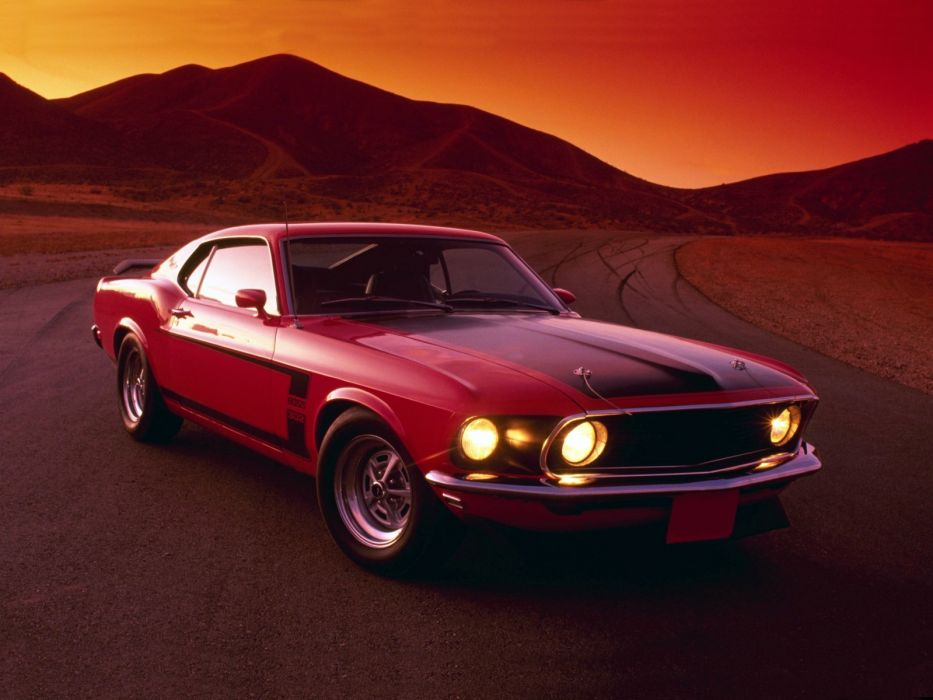 1969 Ford Mustang Boss 302 muscle classic  g wallpaper