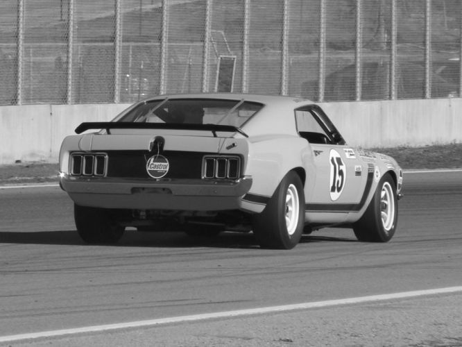 1970 Ford Mustang Boss 302 Trans-Am race racing muscle classic hot rod rods f wallpaper