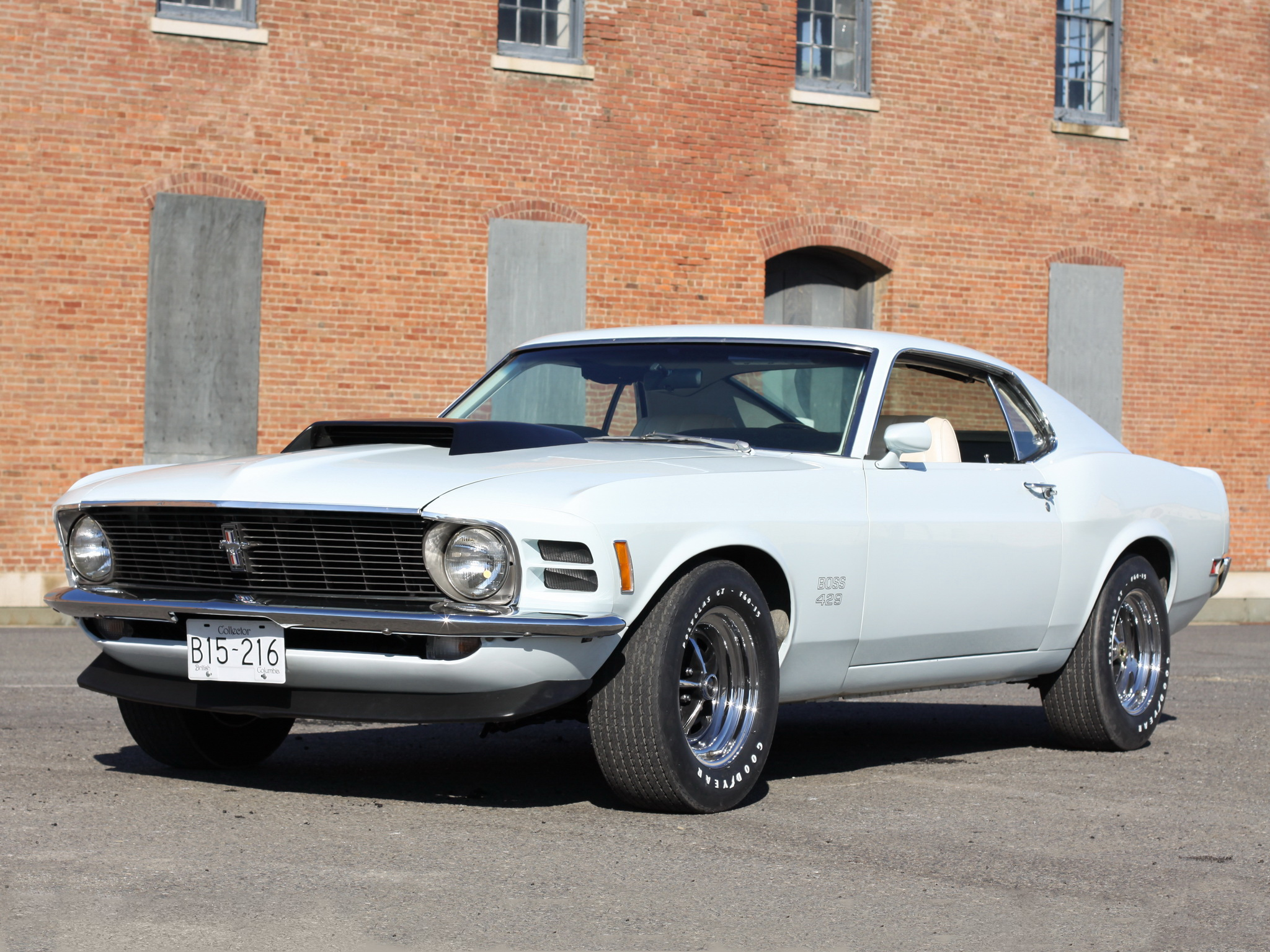 1970 Ford Mustang Boss 429 Muscle Classic B Wallpaper