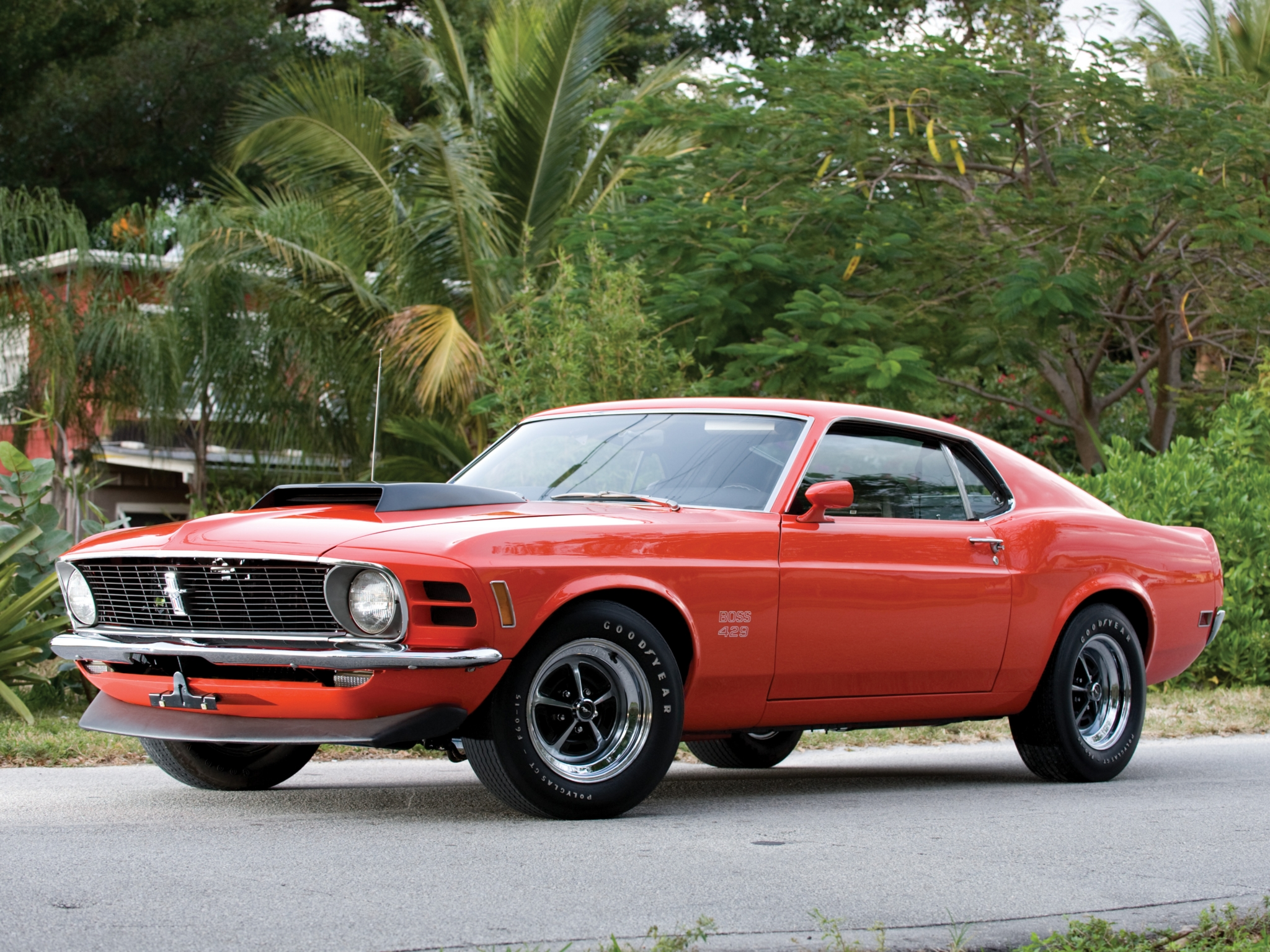 1970 Ford Mustang Boss 429 muscle classic f wallpaper