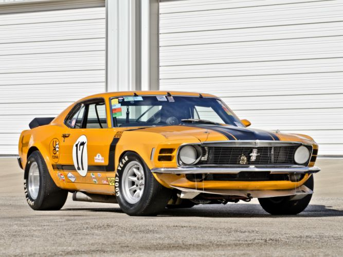 1970 Mustang Boss 302 Trans-Am race racing muscle classic hot rod rods wallpaper