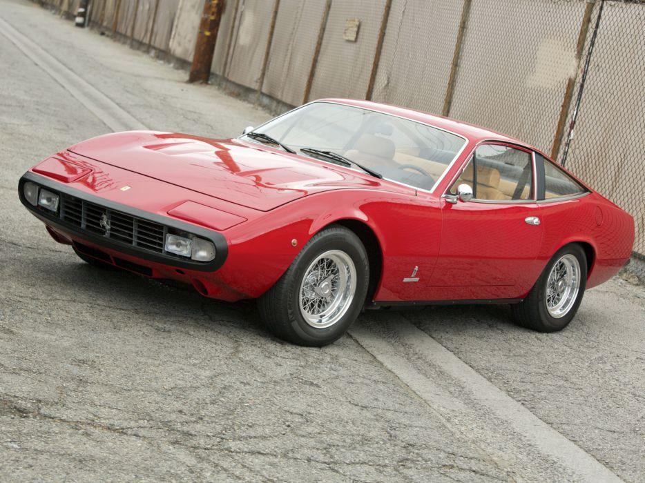 1971 Ferrari 365 GTC-4 supercar supercars classic   gd wallpaper