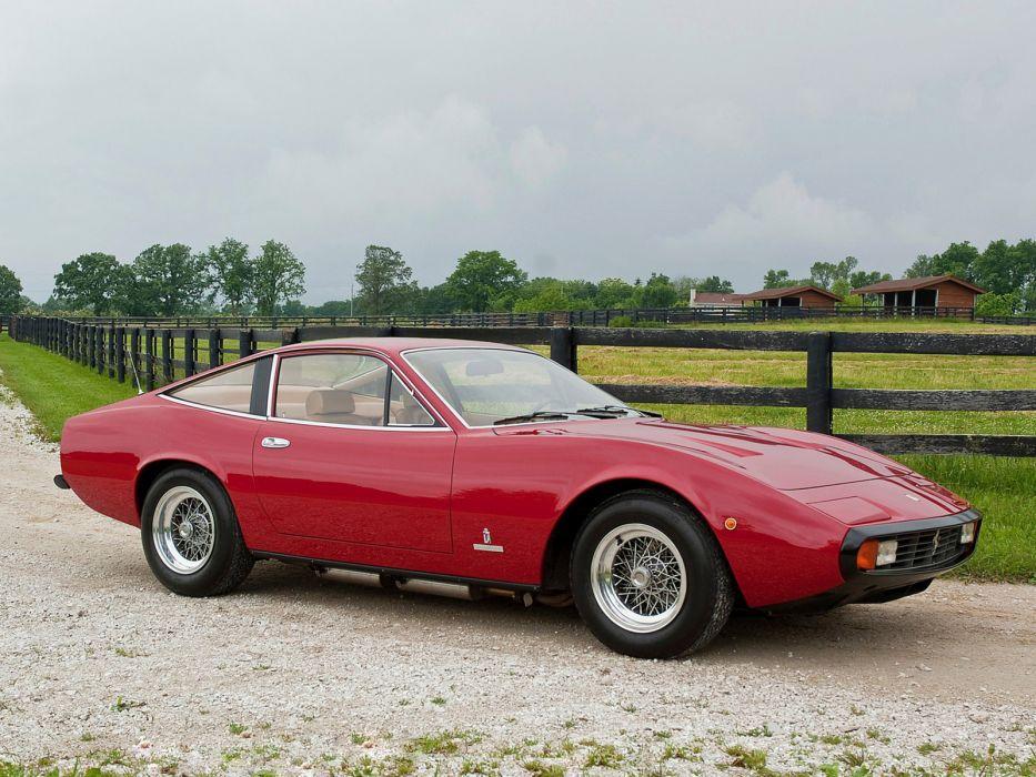 1971 Ferrari 365 GTC-4 supercar supercars classic   hf wallpaper