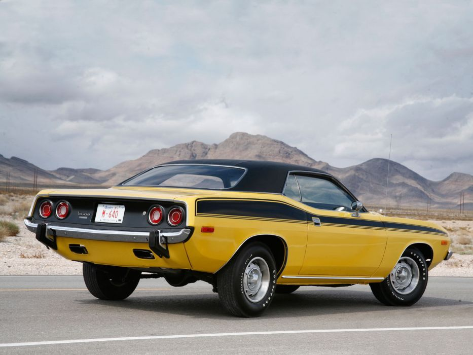 1973 Plymouth Cuda muscle classic   d wallpaper