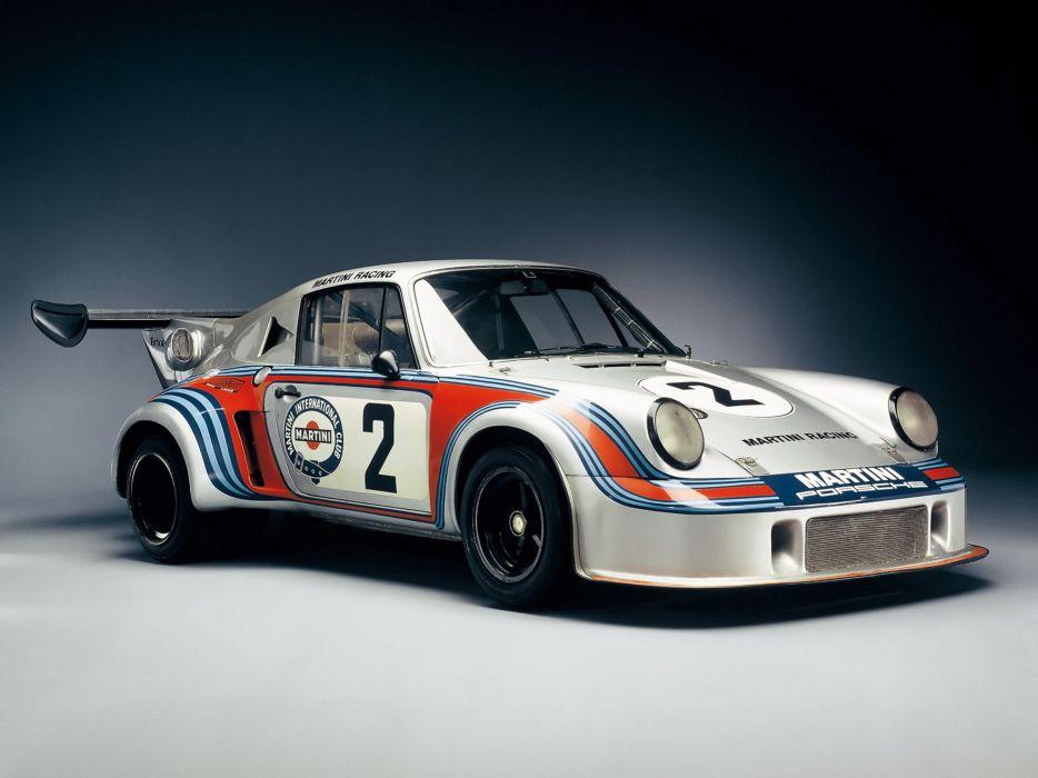 1974 Porsche 911 Carrera RSR Turbo race racing supercar supercars classic   fs wallpaper
